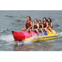 Buy cheap Inflatable Banana Boat For 5 Persons , Inflatable Towable Water Tube product