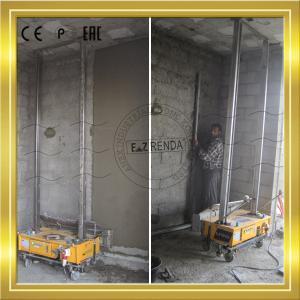 Buy cheap Stainless Steel 304 Plaster Rendering Machine Block Wall 1200mm Spray Render Machine product