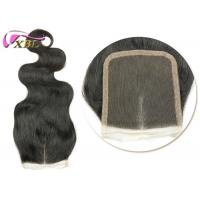 """China Peruvian Remy Lace Front Closure With Baby Hair , 16""""  Middle Part Closure wholesale"""