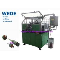 Buy cheap Dc Motor Copper Wire Coil Winding Machine For Home / Automobile Rotor Hook Commutator product