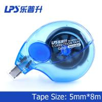 Non Refillable Colorful Blue Correction Tape Item Side Way Correction Tape No W9617