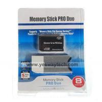 China 8GB Memory Stick PRO Duo Memory Card on sale