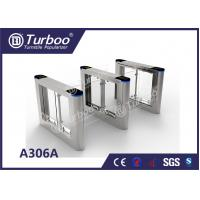 Buy cheap Fast Speed Gate Turnstile / Office Security Gates Stainless Steel Frame product