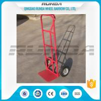 Buy cheap Durable Steel Hand Truck Dolly HT1805 200KG Load 10inches PU Foam Wheel TUV product