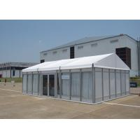 Buy cheap 100 People Small Glass Wall Marquee Garden Party Tent For Wedding Anniversary product