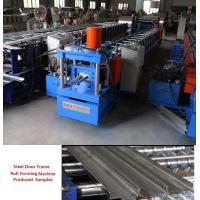 China Efficient Steel Door Frame Roll Forming Machine 20 Station High Performance on sale