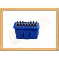 Buy cheap PVC BLUE OBDII 16 Pin Male OBD Diagnostic Connector CK-SOM002B product