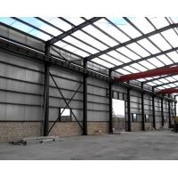 Buy cheap Anti Corrosion Steel Structure Office Or Workshop  With Wall & Roof product