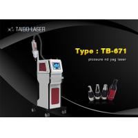 China 755nm Nd Yag Laser Tattoo Removal Machine For Skin Whiten / Pigmentation Removal wholesale