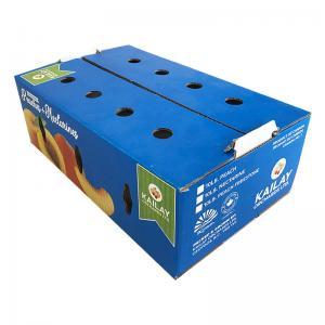 Buy cheap Food Packaging Fruit Carton Box Cardboard Carton Kraft For Fruit Vegetable product
