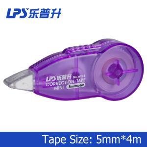 Buy cheap PSの極度の小型訂正リボン4Mの紫色のプラスチック訂正のランナーW961 product