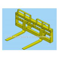 Buy cheap Quick coupler pallet fork of SDLG wheel loader with 1.45m length of the tines product