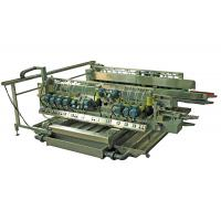 Buy cheap Construction Glass Edge Polishing Machine / Glass Edge Grinder With Touch Screen product