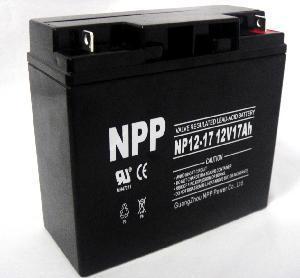 Buy cheap UPS Battery (NP12-17Ah 12V 17AH) product
