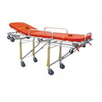 Buy cheap Emergency Equipment Ambulance Trolley Folded Stretcher Strong Medical Transport product