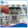 Buy cheap Impresión de la etiqueta engomada del código de QR, etiqueta autoadhesiva de la from wholesalers