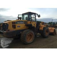Buy cheap Komatsu WA320-5 Second Hand Front End Loaders Japan Original Color  2.000 Rpm product