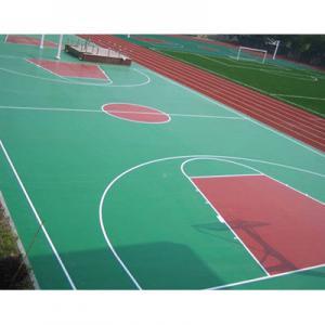 Sandwich System PU Sports Flooring Materials For Futsal Court Surface