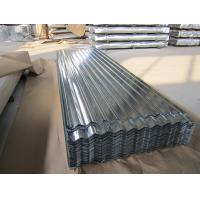 Buy cheap SGCC Galvanized Corrugated Roofing Sheet JIS G3302,Zinc coating 60-275g/m2 product
