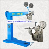 China Manual Pedal Carton Box Stitching Machine Oblique Double Staple Easy Operation on sale