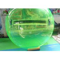 China 2m Green PVC Inflatable Walk On Water Ball  / Inflatable Water Walking Ball on sale