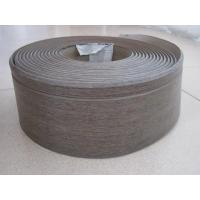 Quality 100mm width/5mm thickness/wood grain/PVC/skirting board/plastic building for sale