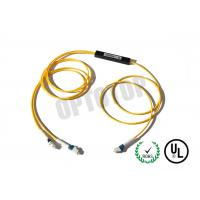 Buy cheap Single Mode Fiber Coupler 2X2 LC Fbt Coupler Φ2 Yellow 1m Package C product