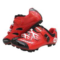 Comfort Road Bike Shoes / Non Slip Cycling Shoes Compatible With Clipless Bike Pedals
