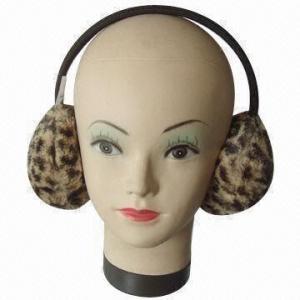 China Ear Muffs, Keeps Warm, Made of Acrylic Wool on sale