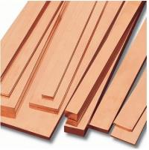 Professional ASTM / JIS , Din 80 - 400mm Copper Flat Bar For Conveyors , Port Cranes