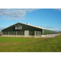 China Movable Light Steel Structure Poultry House , Q235B / Q355B Poultry Farm House on sale
