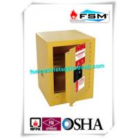 Mini Steel Flame Proof Safety Storage Cabinets With Single Door