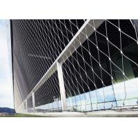Buy cheap Waterproof Stainless Steel Architectural Mesh Aperture Customized For Protection product