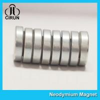 Buy cheap N35-N52 Permanent Neodymium Cylinder Magnets For Motor Generator product