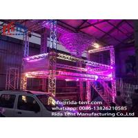 Buy cheap Heavy Duty Line Array Led Screen Truss System 6082 Aluminum Alloy Material from wholesalers