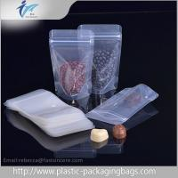 China Laminated Material Resealed Plastic Bag With Zipper , Coffee Bean Packaging on sale