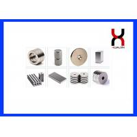 Buy cheap Industrial Block / Ring / Disk NdFeB Permanent Magnet For Motor SGS Approval product
