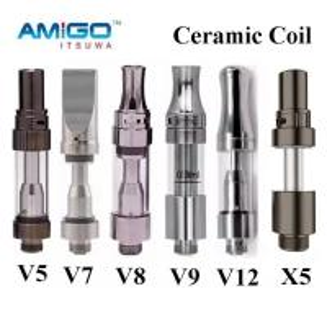 Buy cheap Original Amigo Liberty X5 Vape Vaporizer Pen Cartridge 0.5ml 1ml Pyrex Tank Coil from wholesalers