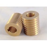 Buy cheap Brushed / Polished Small Brass Parts , Brass Precision Turned Components product