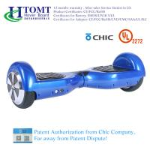 trotinette Hoverboard do equilíbrio do auto de 2 rodas com o orador de Bluetooth da roda de 6,5 polegadas com licença chique