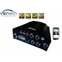 China H 264 4CH 720P DVR For Vehicles truck 4ch car mobile dvr with free softwares on sale