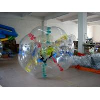 Transparent Colors Dot Body Zorb Ball for Amusement