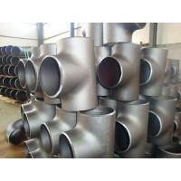 Buy cheap SS316L SS310 Stainless Steel Weld Fittings , 904L  Sch10 - Sch160 Industrial Pipe Fittings from wholesalers