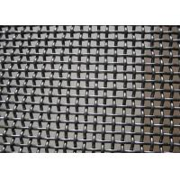 Buy cheap Crush Stone​ Crimped Wire Mesh , Vibrating Screen Mesh Polished Surface Treatment product