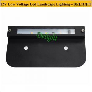 Low Voltage LED Hardscape Lighting for Brick Retaining Walls Lights 12V LED Step lighting and LED corner light