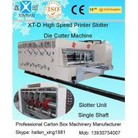 China 15KW - 30KW Lead Edge Feeding Unit Automatic Carton Packaging Machinery 900×1900mm on sale