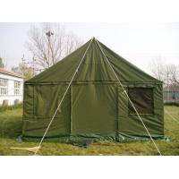 Buy cheap Oxford Fabric Military Wall Tent2.4M Height , Rustproof  Military Issue Tent product