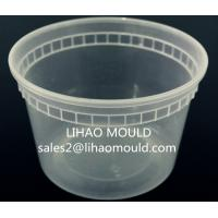 Buy cheap moule en plastique jetable de seau d'injection de mur mince product