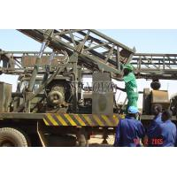 Water Well Drilling Rig Truck-mounted With All Its components 73.5KW / 1500rpm SIN450