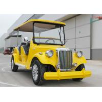 Buy cheap Leather 6 seater Classic Golf Cart and Suspension Heavy Duty Leaf Spring from wholesalers